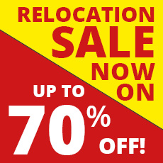 Relocation Sale Now On!!