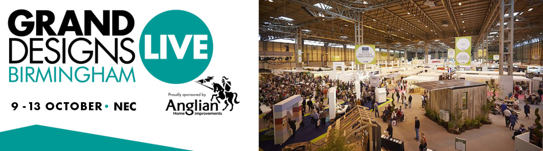 Come see us at Grand Designs Live 2019 NEC   GBC Buildings for Leisure