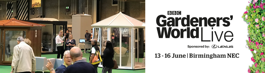 GBC Buildings for Leisure | Come and see us at Gardeners World Live 2019!
