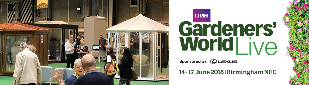 GBC Buildings for Leisure | Come and see us at Gardeners World Live 2018!