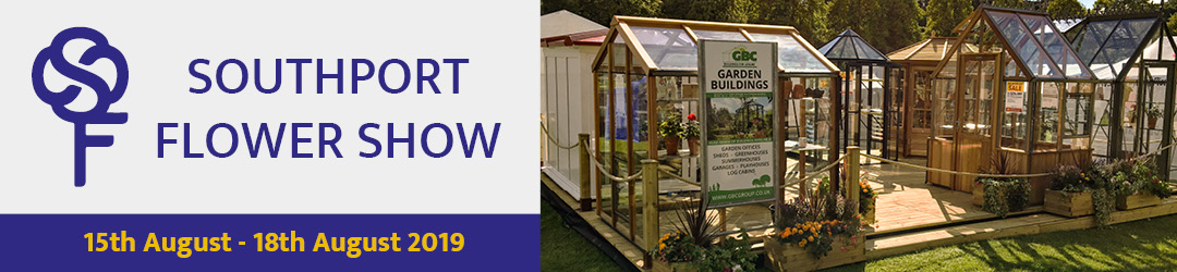 GBC Buildings for Leisure | Come and see us at the Southport Flower Show 2019!