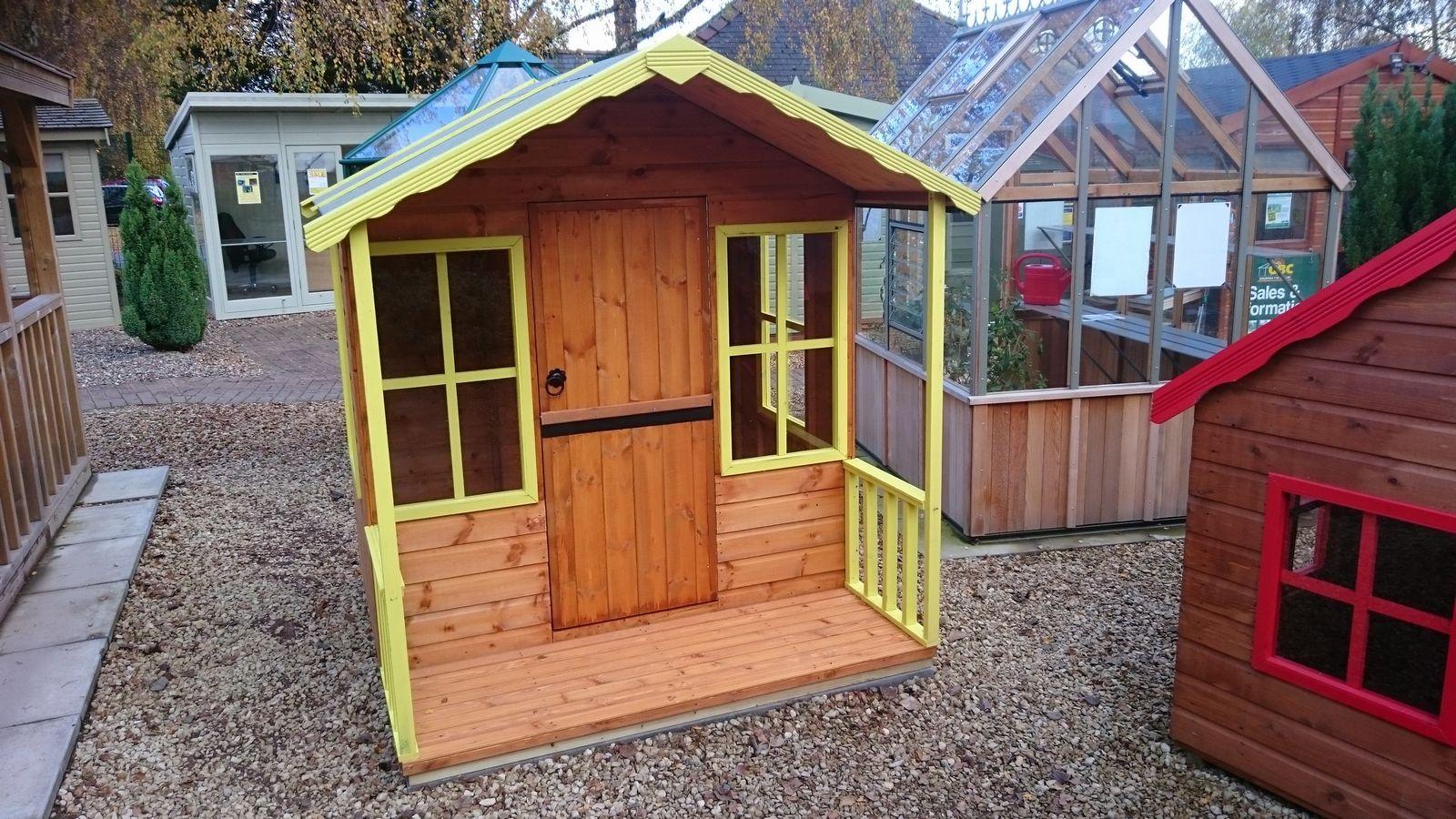 playhouse on shed base