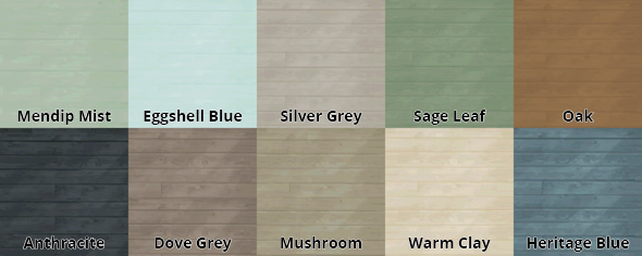 Browns Colour Chart