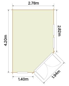 Lillevilla Hamina HL2 Floor Plan