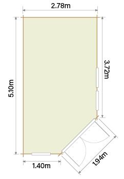 Lillevilla Hamina HL3 Floor Plan