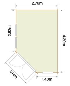 Lillevilla Hamina HR4 Floor Plan