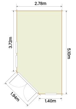 Lillevilla Hamina HR5 Floor Plan