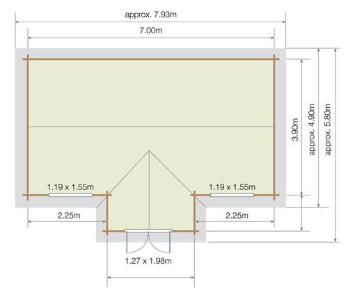 Lillevilla Hakoinen base plan