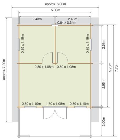 Lillevilla Kajaani Floor Plan