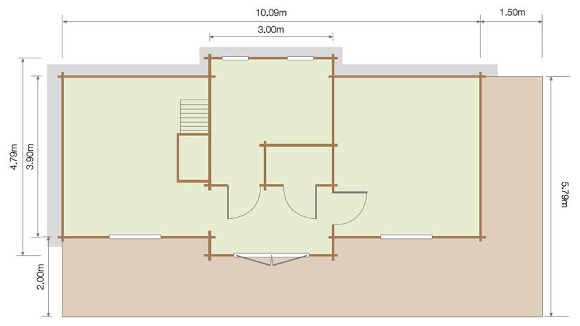 Lillevilla Liinmaa Floor Plan
