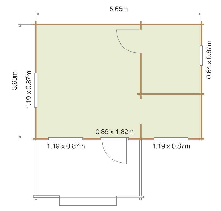 Lillevilla Sibbesborg Floor Plan