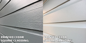 Cladding Profiles: Square, Shiplap