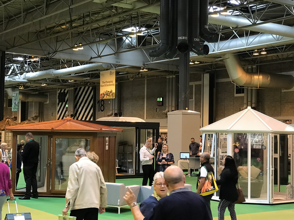 Nordic display stand at Gardeners World Live