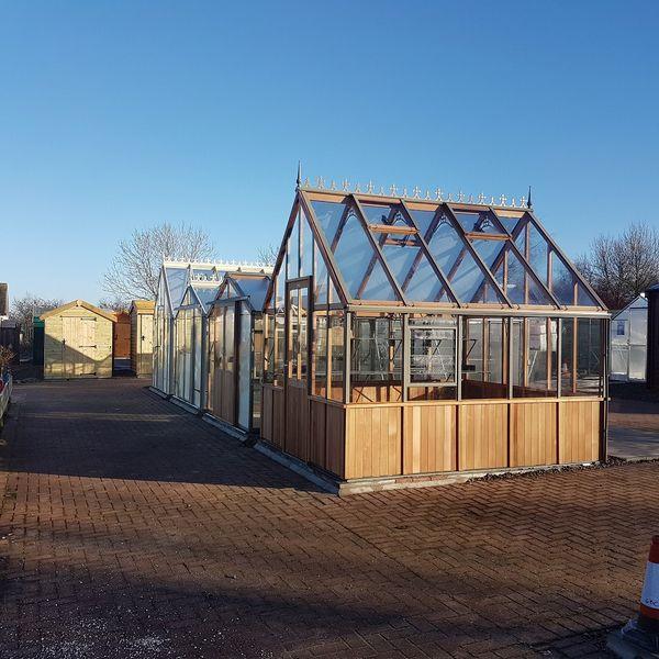 Greenhouses in Ponteland
