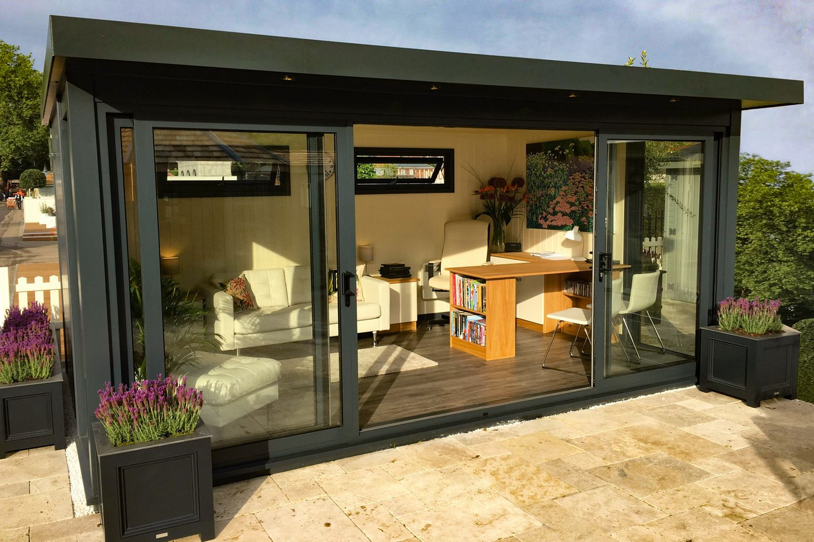 The Malvern Charford Garden Office under 2.5m in height