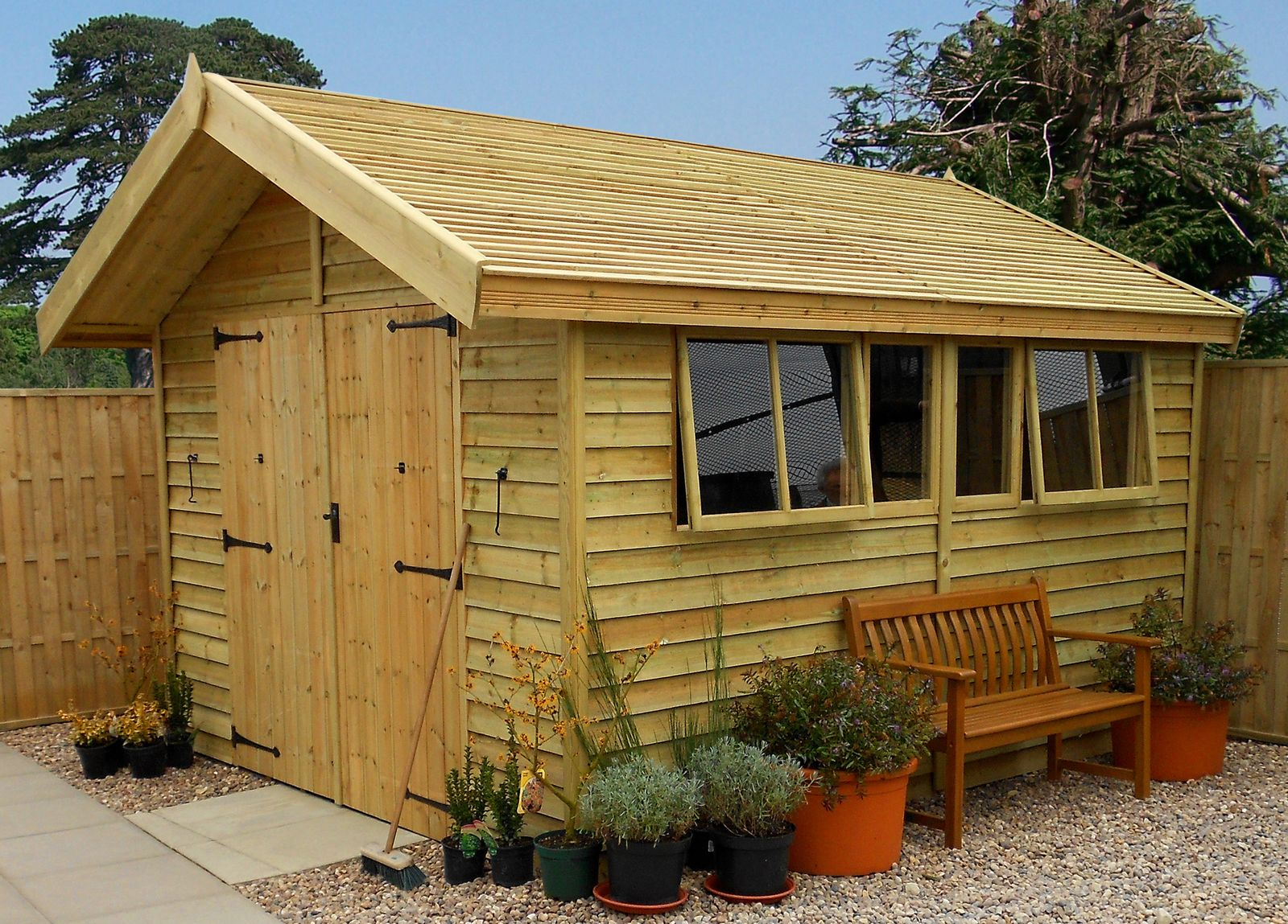 Secure Malvern Stanford Shed - 12ft x 10ft