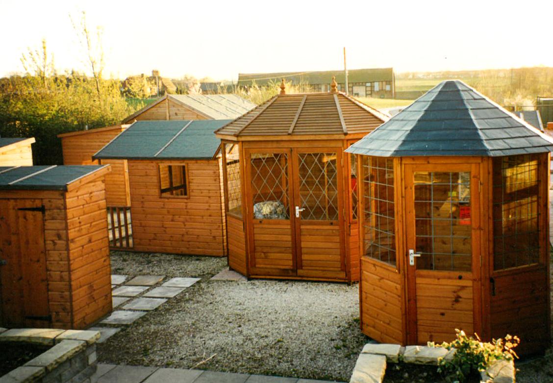 Sheds and Summerhouses at GBC Shrewsbury