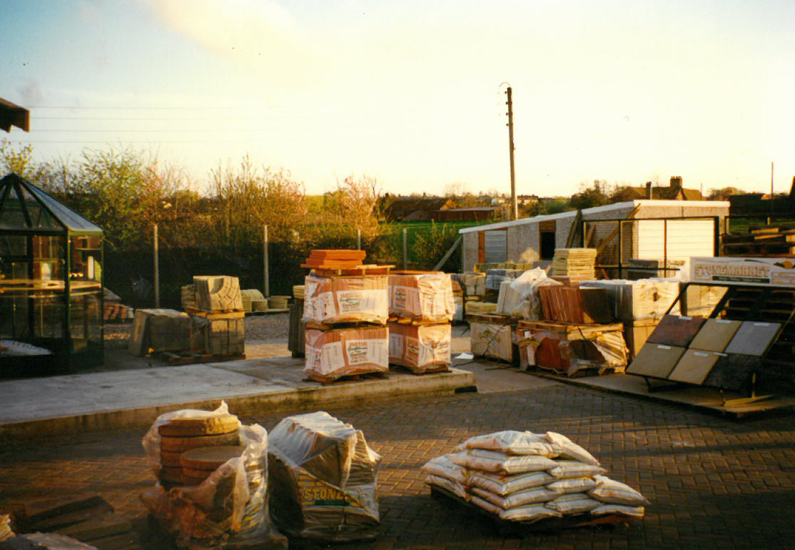 Slabs, sand and cement start to arrive!