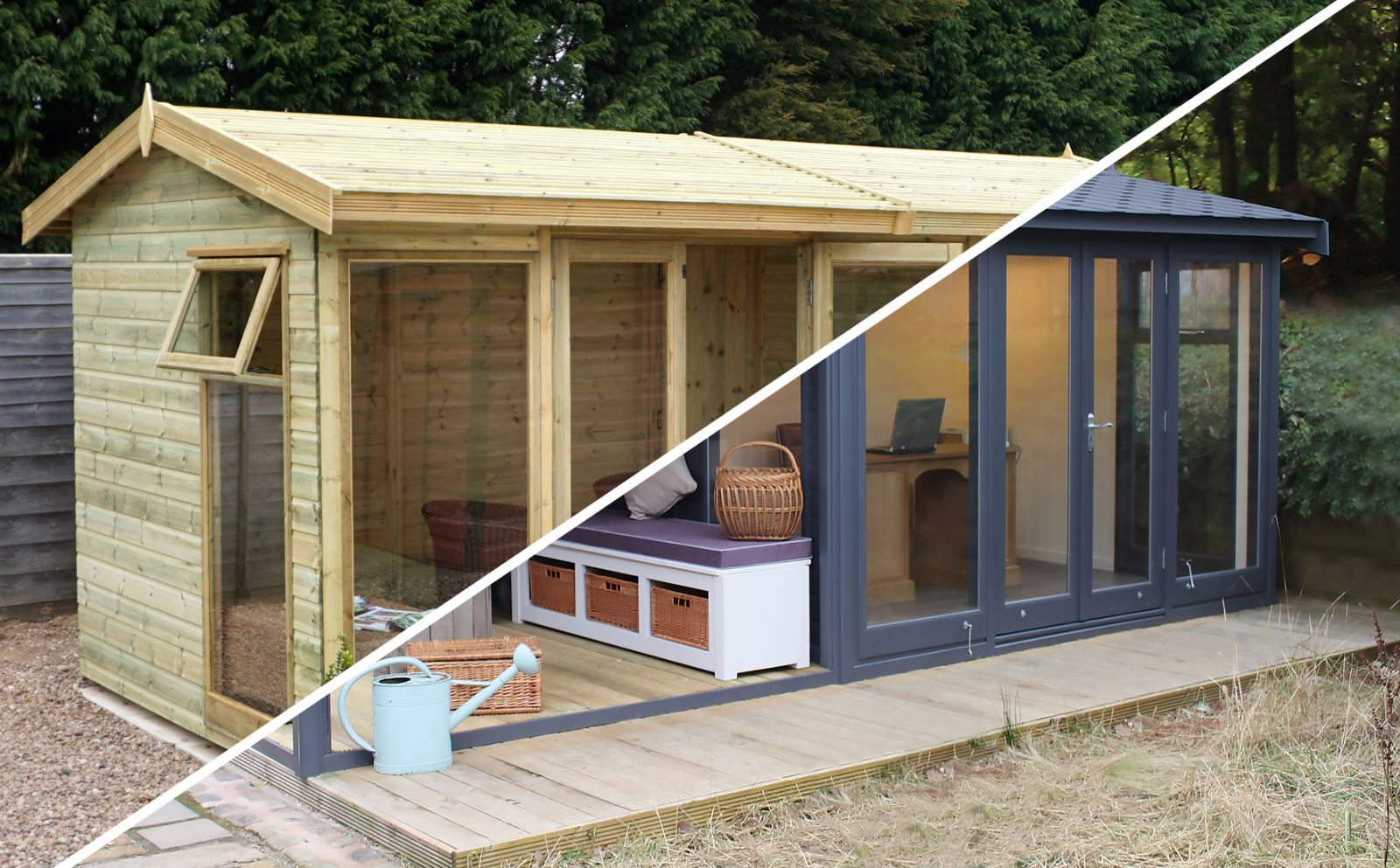 Summer House or Garden Office?