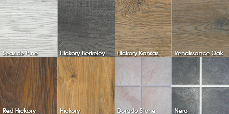 Laminate floor choices
