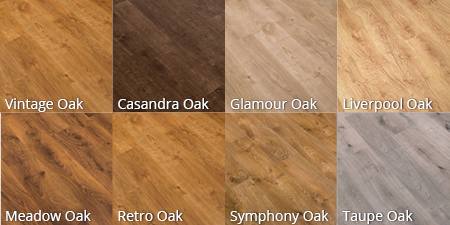 Laminate floor options