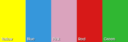 Playhouse colour options